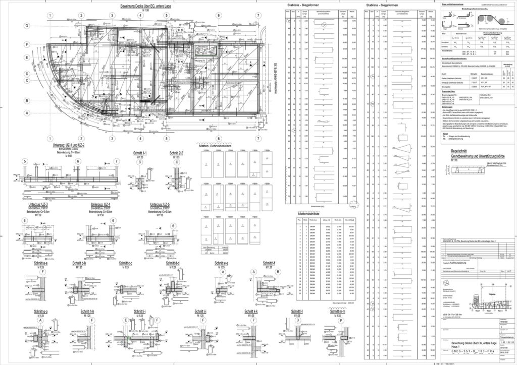 rebar detailing plan example 1