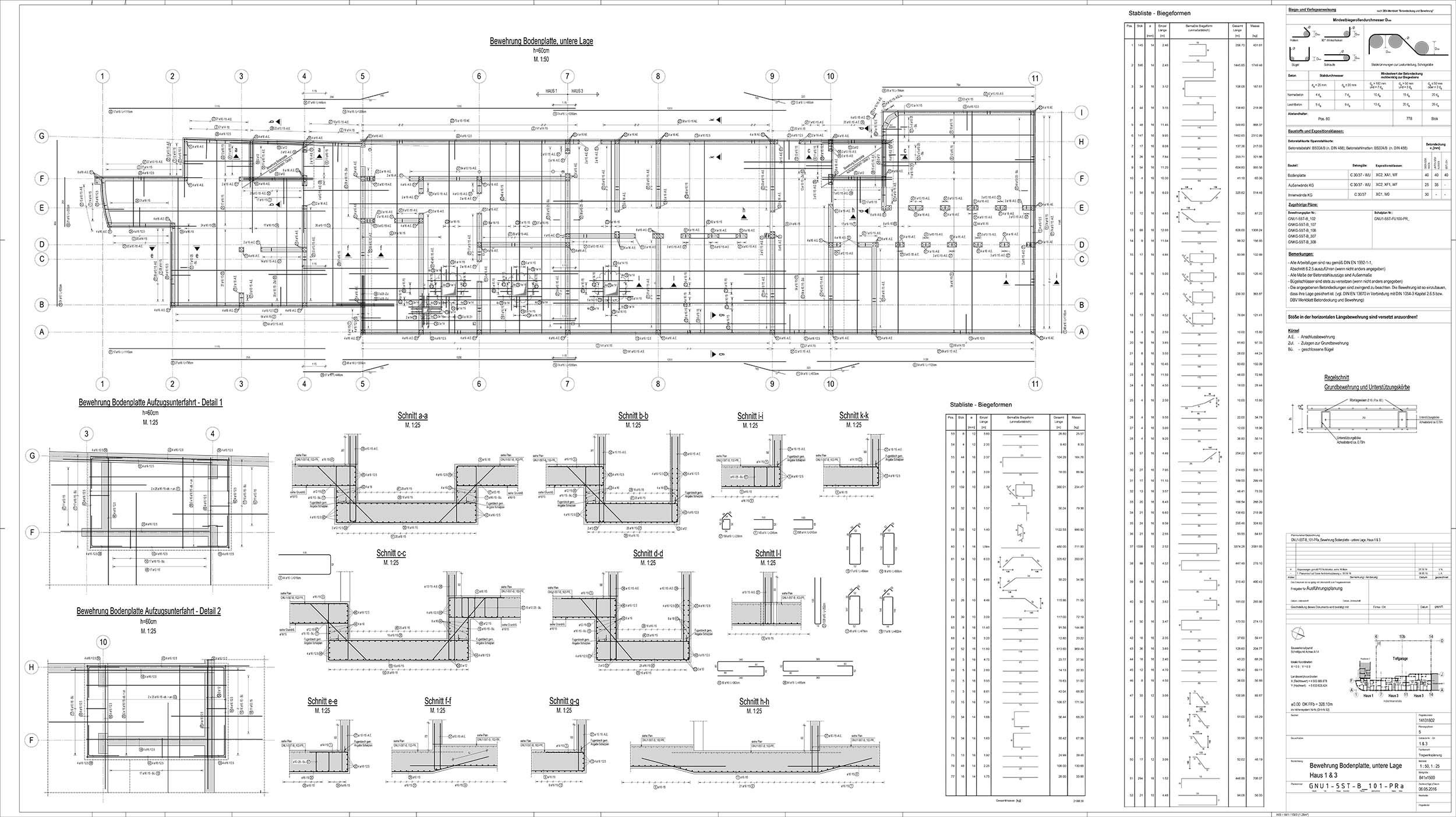 rebar detailing plan