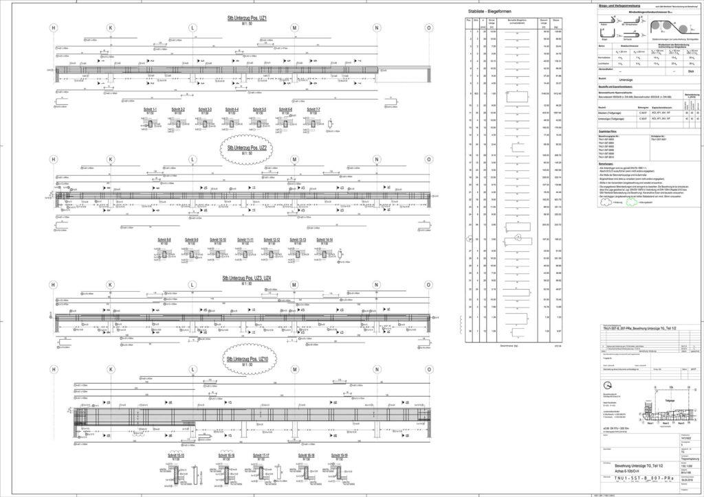 rebar detailing plan example 2
